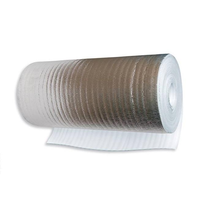 Полотно из вспененного полиэтилена фольгированное 3 мм (1